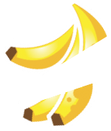 sticker icons fruit-17 - BananaCut