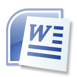 Microsoft Word Icon - Import