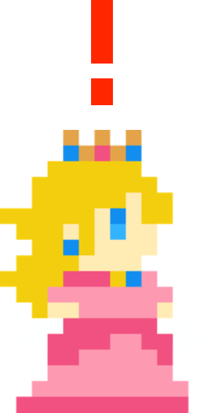 Princess Peach - alerted