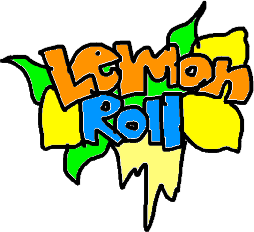 Lemon roll - drawing