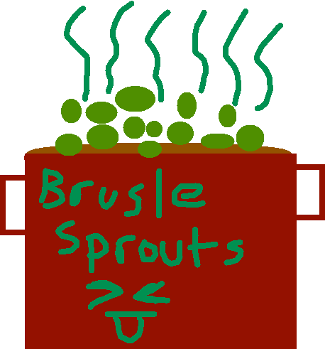 brustle sprouts - drawing
