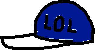 cool hat1 - drawing
