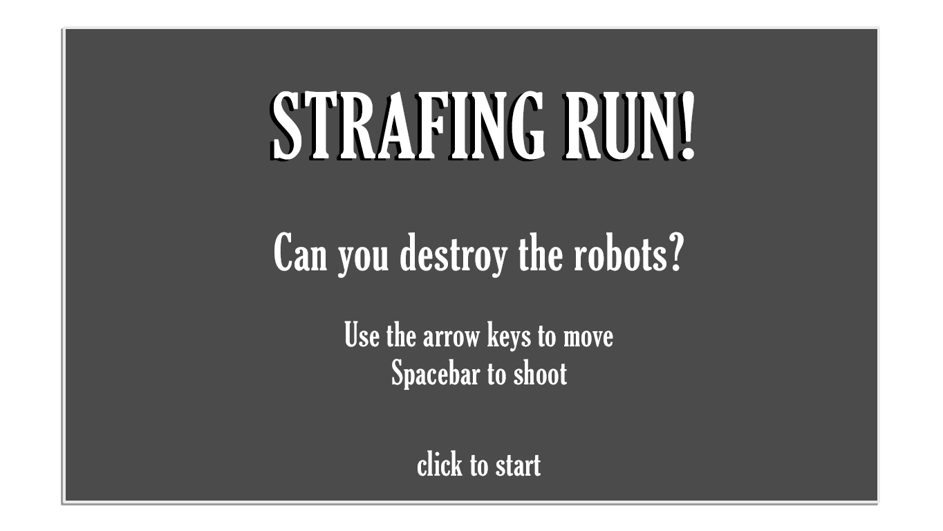 strafing title - strafing title
