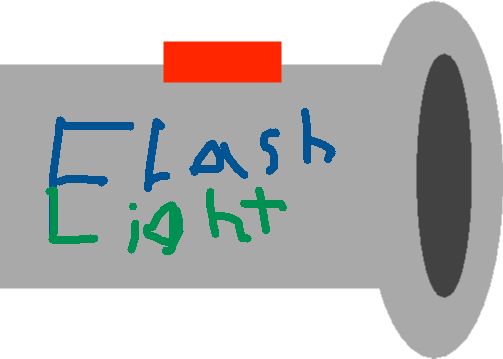 Flashlight - drawing