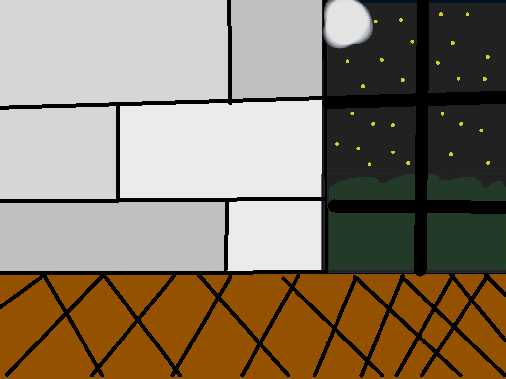 background scene - night