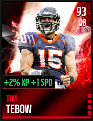 Card One - Tim Tebow