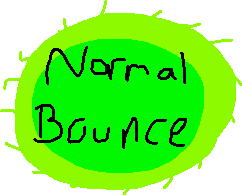 normal bounce - drawing