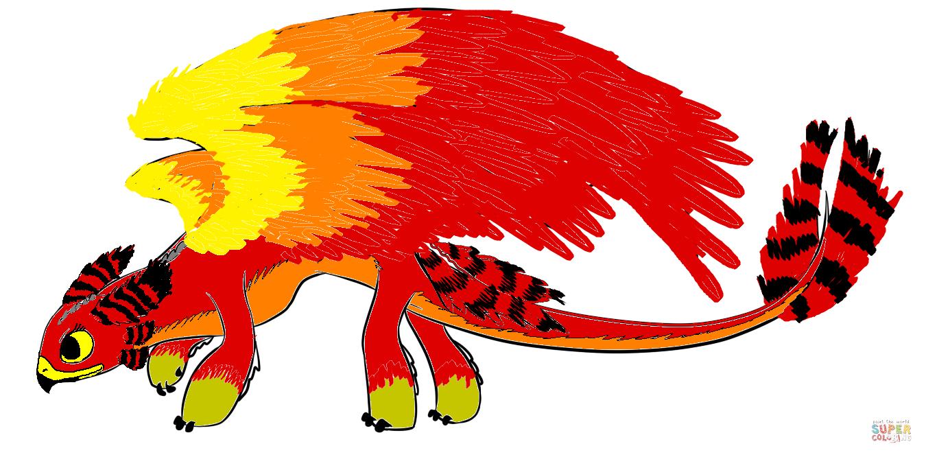 Phoenixheart The Phoenix Night Fury Hybrid Tynker