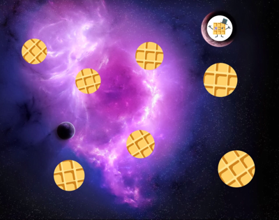 background scene - Waffle World