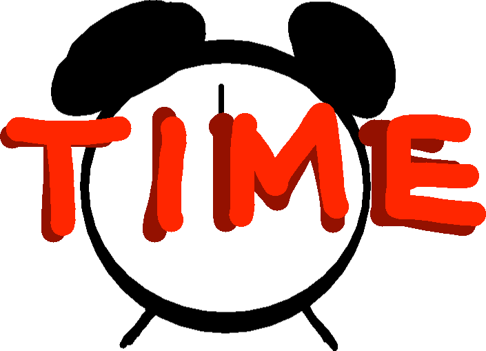 Time Up - drawing