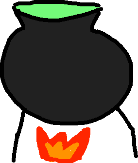 Cauldron - drawing
