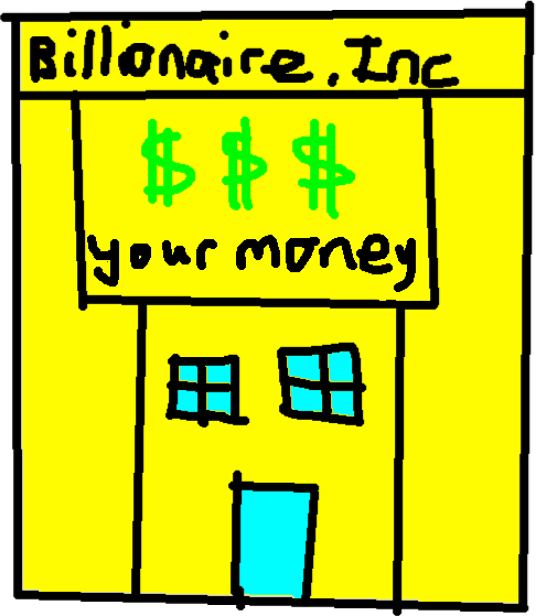 Billionaire.inc - drawing