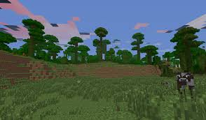 background scene - MINECRAFT SCENE