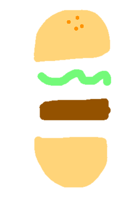 drawing22 - hamburger