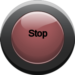 red button on - red button off