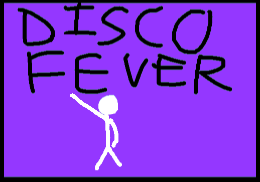 Disco Fever - drawing copy