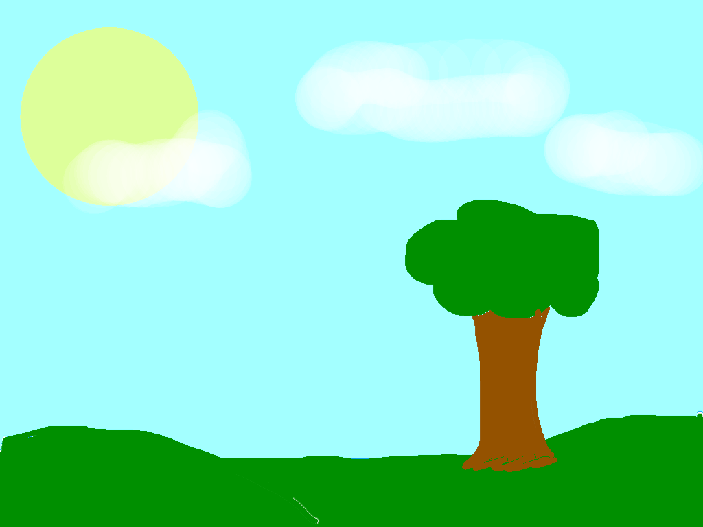 background scene - drawing1