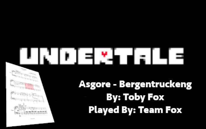 Asgore/Bergentruckung Played By: Team Fox   Tynker