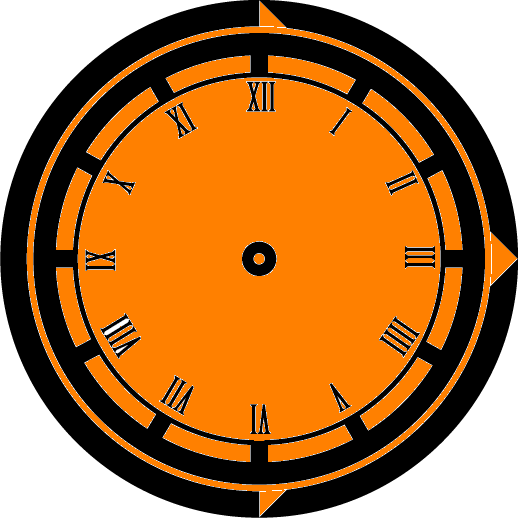 Clock Face1 - Night
