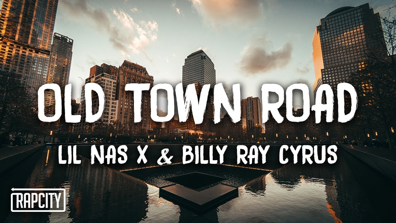 background scene - old town road