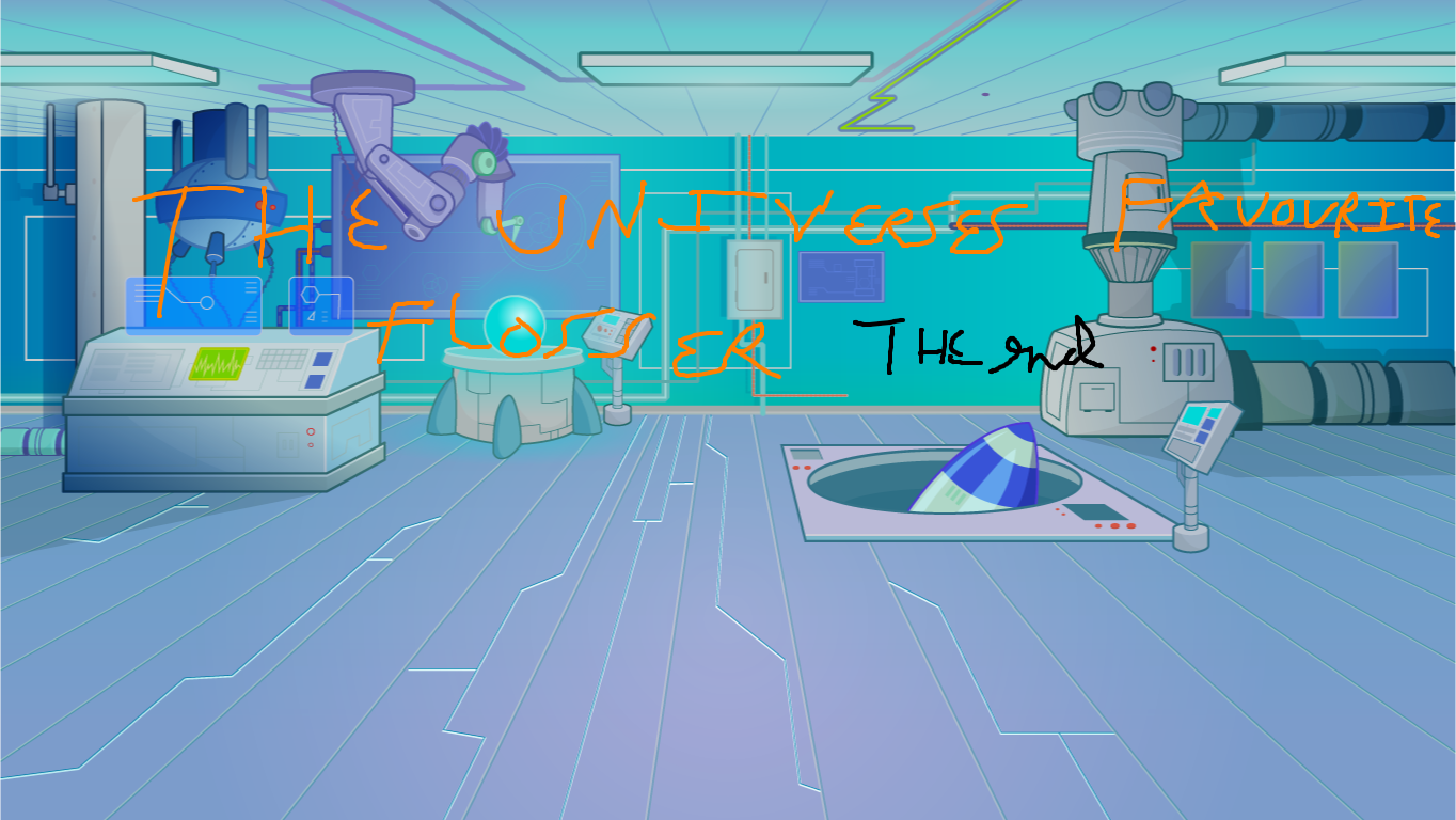 background scene - laboratory