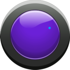 button11 - purple button on