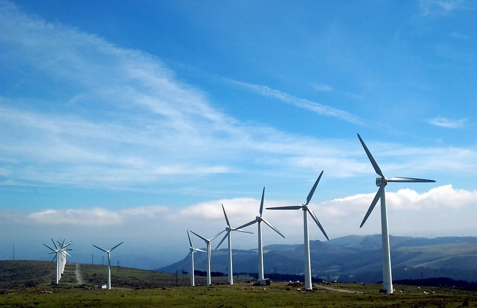 background scene - wind energy