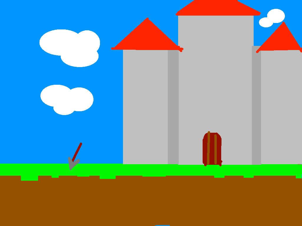 background scene - castle
