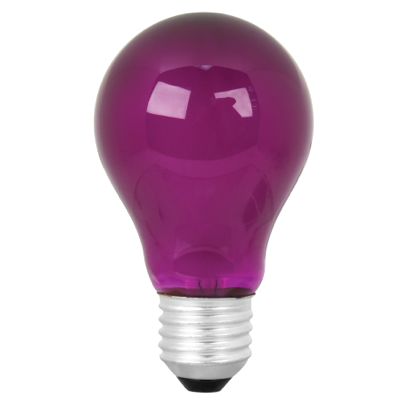 Lightbulb - Purple