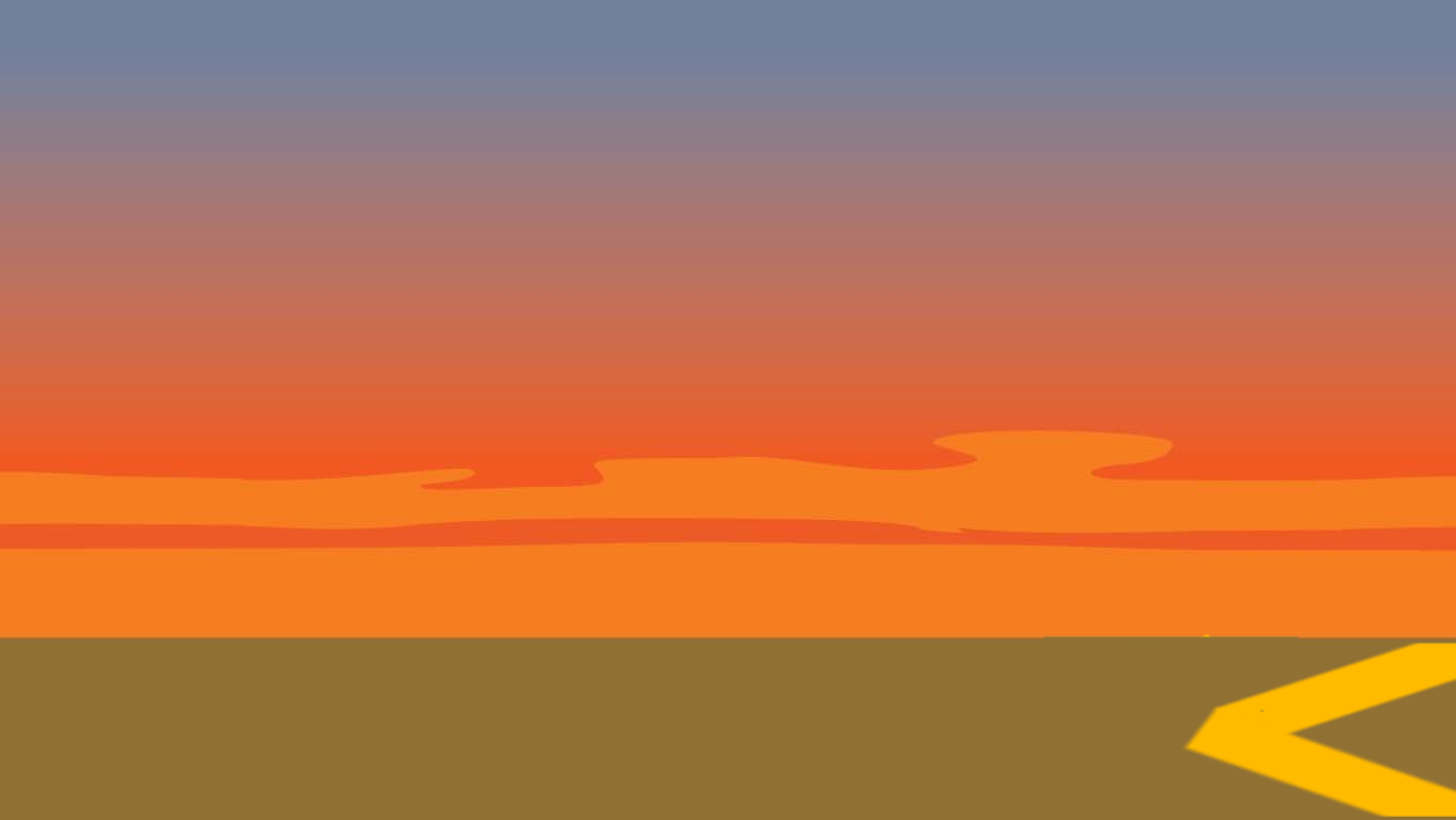 Volcano Meadow1 - Sunset Horizon