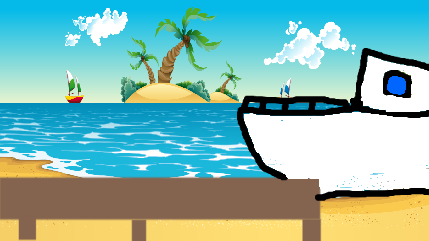 background scene - beach