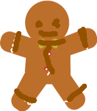 unbaked gingerbread man1 - gingerbread man