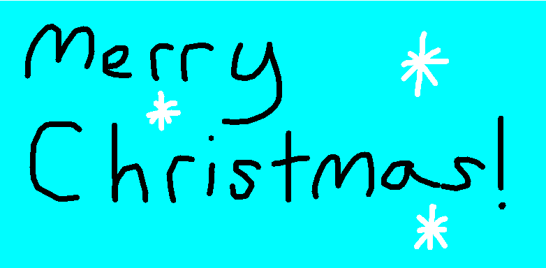 Merry Christmas - drawing