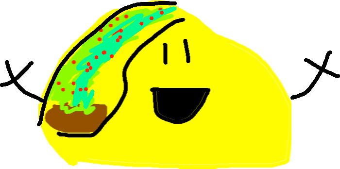 drawing - happy taco 🎈