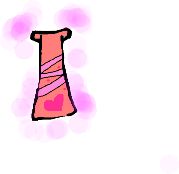 Mimi's dress - drawing