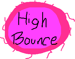 high bounce - drawing