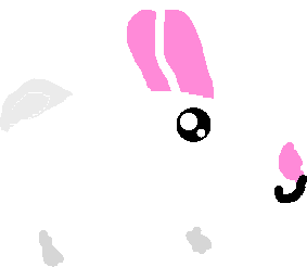 bunny - drawing