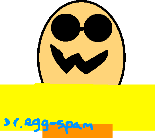 Dr. Egg-spam - drawing
