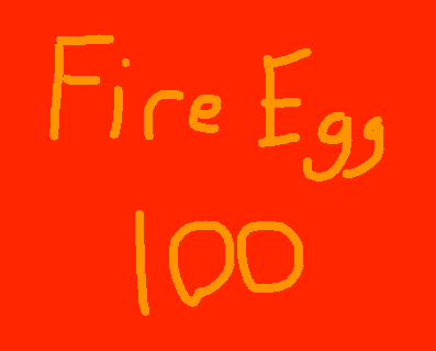 Fire Egg - drawing