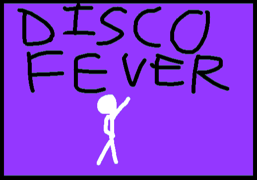 Disco Fever - drawing