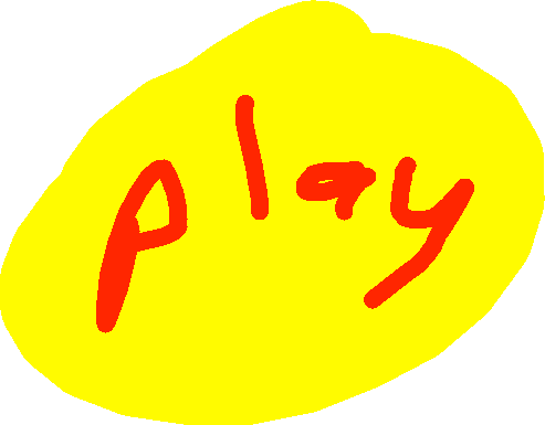 play button - drawing