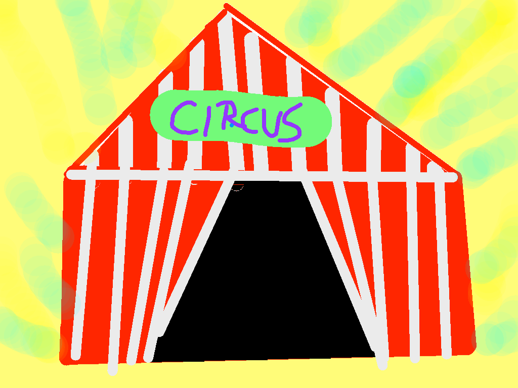 background scene - circus