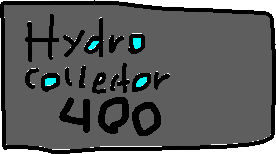 Hydro sign - drawing