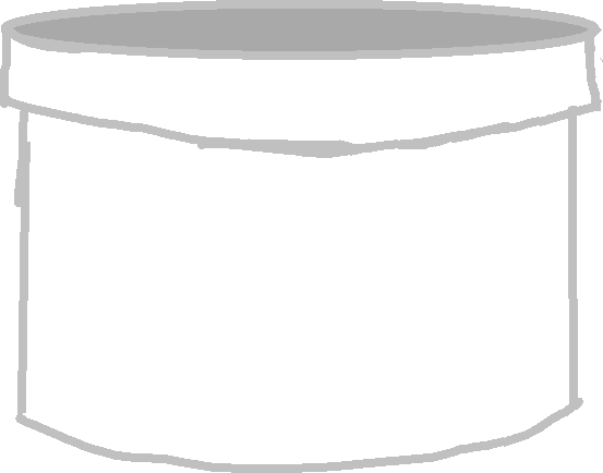 large cup - drawing