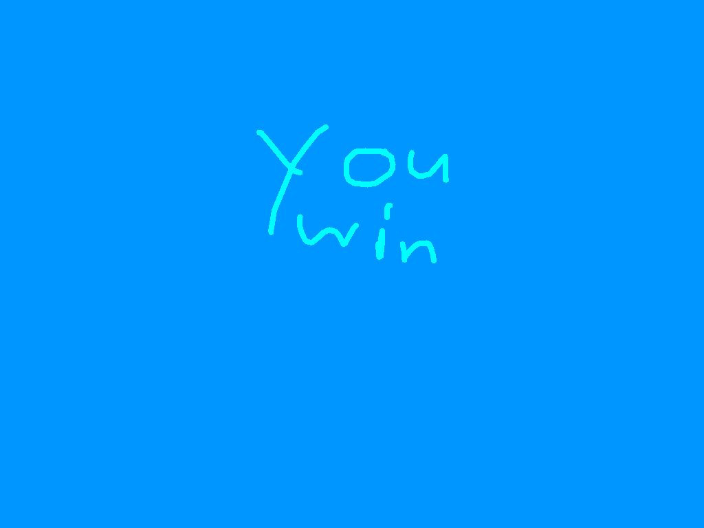 You Win - drawing