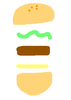 drawing22 - mixed burger