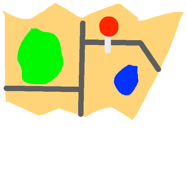 maps - drawing