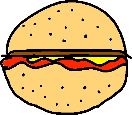 Hamburger - drawing