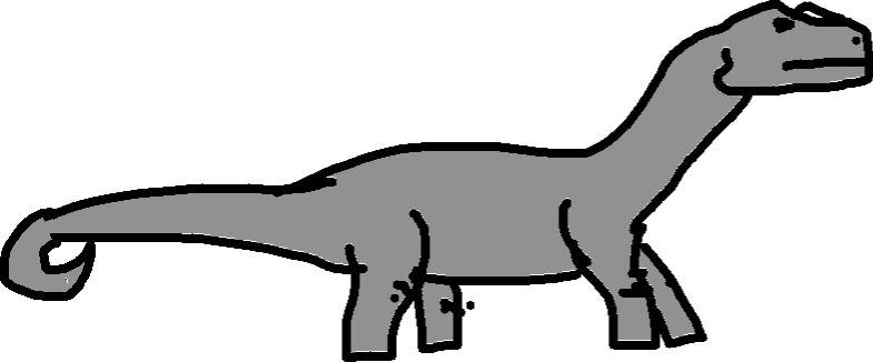 Apatosaurus - drawing copy copy copy copy