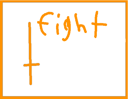 fight - drawing
